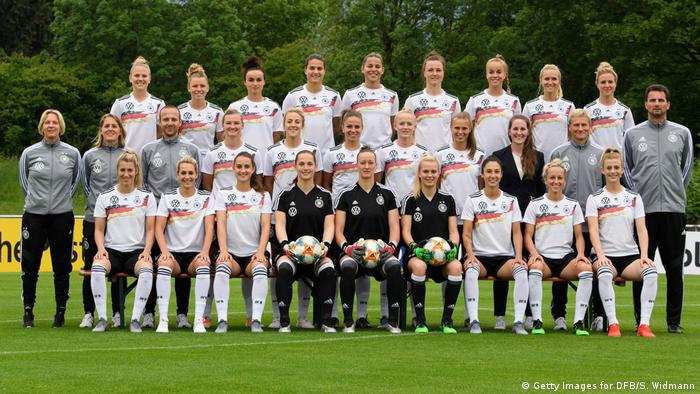 Germany's women's national football team (Getty Images for DFB/S. Widmann)