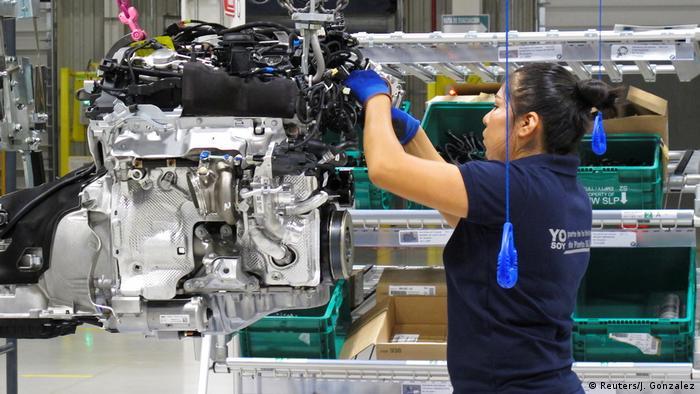 Mexiko BMW neues Werk in San Luis Potosi