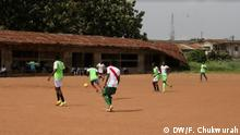 Nigeria Lagos | Fußballverein FC Robo Queens | Training