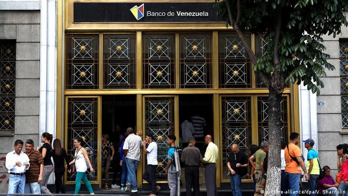 Caracas, Venezuela Zentralbank (picture-alliance/dpa/V. Sharifulin)