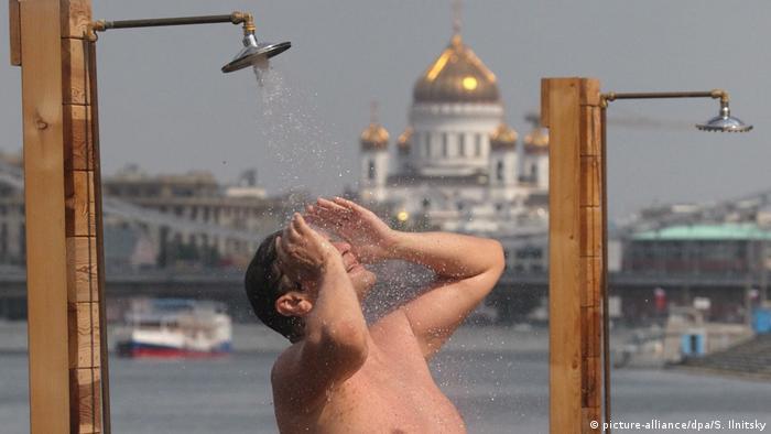 Аномальная жара в Москве