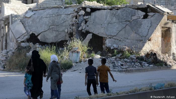Syrien Krieg - Kämpfe in Idlib