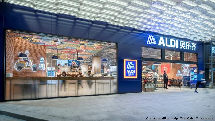 China Eröffnung erste Aldi-Filialen | Shanghai
