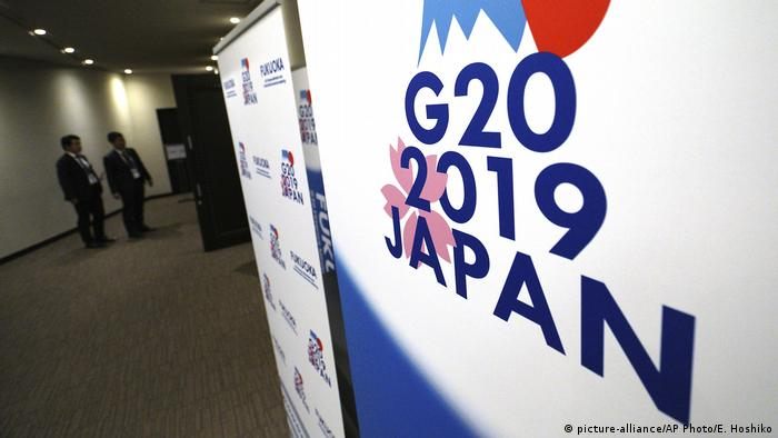Japan G20-Treffen Finanzminister in Fukuoka (picture-alliance/AP Photo/E. Hoshiko)
