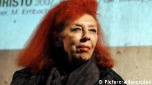 Künstlerin Jeanne-Claude