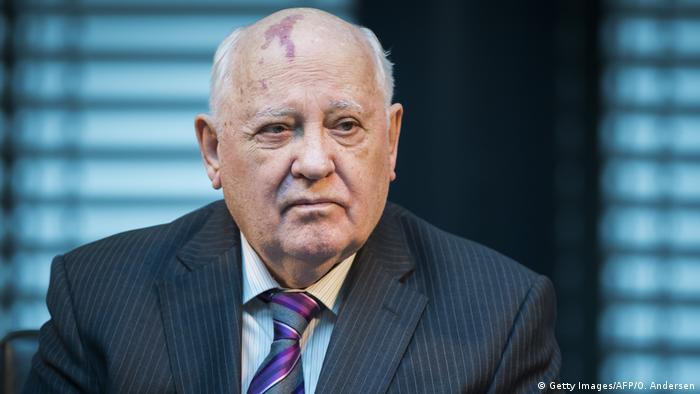 Бывший президент СССР Михаил Горбачев в Германии в 2014 году