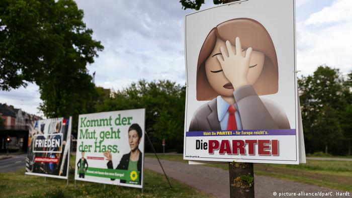 Die Partei campaign poster