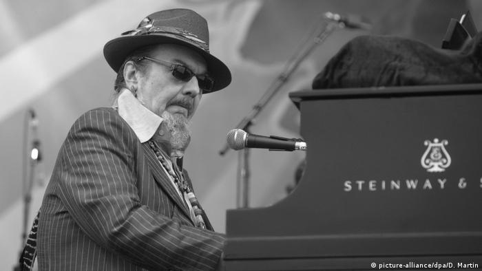 Dr. John performing in New Orleans in 2008