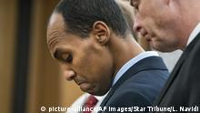 USA Minneapolis - Ehemaliger Polizeioffizier Mohamed Noor im Gerichtssaal