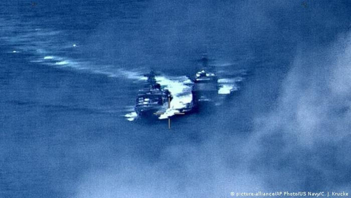 US, Russia blame each other in naval near-collision | News