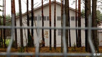 A building in Lithuania which allegedly housed a CIA secret prison