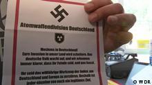 Deutschland Flugblatt Köln Mülheim Atomwaffendevision Deutschland Rechte: WDR
