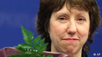 Zukünftige EU Außenministerin Catherine Ashton
