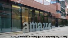 ©PHOTOPQR/L'ALSACE ; Le siège Européen d' Amazon (amazon.com) entreprise de commerce électronique. |