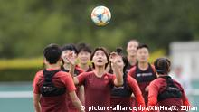 Vor Frauen-Fußball-WM - China Training (picture-alliance/dpa/XinHua/X. Zijian)