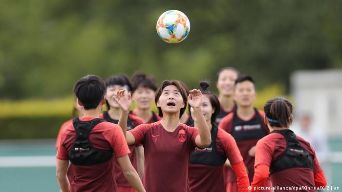 Vor Frauen-Fußball-WM - China Training