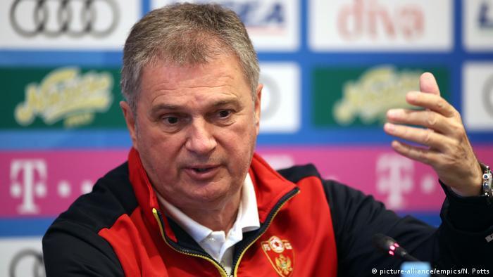Montenegro coach Ljubisa Tumbakovic