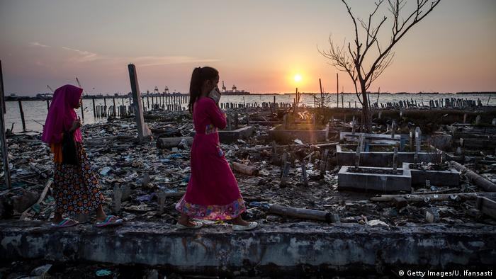 Apokaliptyczny krajobraz w Indonezji