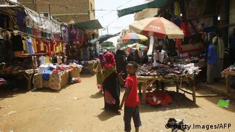 Sudan Straßenszene in Omdurman