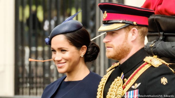 Meghan, Herzogin von Sussex und Prinz Harry, Der Herzog von Sussex (picture-alliance/Photoshot/AvalonLFI/J. Edwards)
