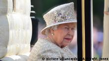 Trooping the Colour Parade in London Königin Elizabeth II.