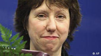 The EU's new foreign policy chief Catherine Ashton