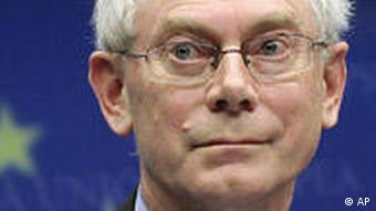 European Union President Herman Van Rompuy