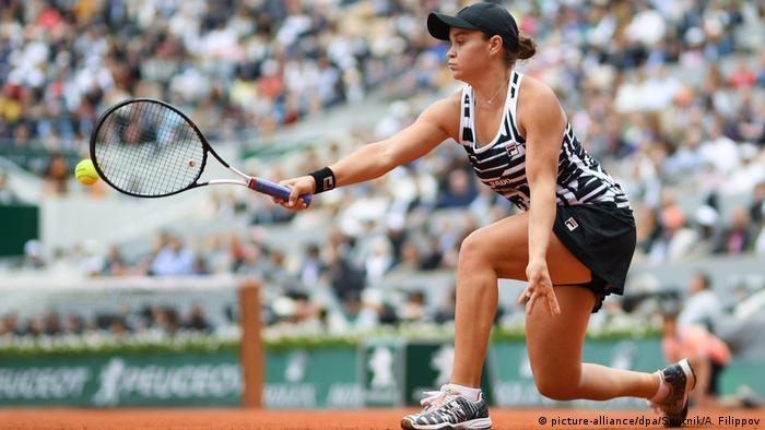 Frankreich Tennis French Open - Ashleigh Barty (picture-alliance/dpa/Sputnik/A. Filippov)