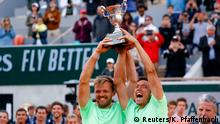 Tennis French Open Männer Doppel Kevin Krawietz und Andreas Mies