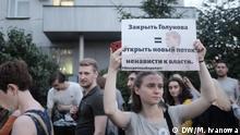 Russland Gerichtsprozess gegen Investigativjournalist Ivan Golunow