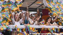 Polen: Pride-Parade in Warschau