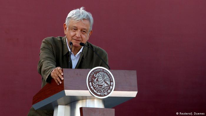 President Lopez Obrador in Tijuana