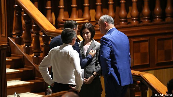 Майя Санду, Андрей Нэстасе и Игорь Додон