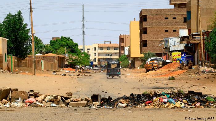 Sudan Khartum - Unruhen