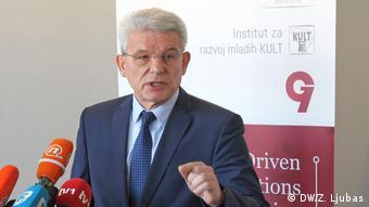 Bosnien und Herzegowina   Junge Menschen sehen ihre Zukunft in der EU   Sefik Dzaferovic (DW/Z. Ljubas)