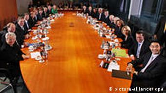 The new German cabinet