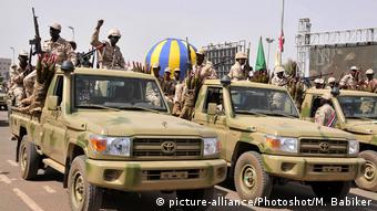 Sudan Soldaten RSF
