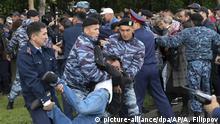 Kasachstan Nur-Sultan | Präsidentenwahl: Polizei nimmt Demonstranten in Gewahrsam