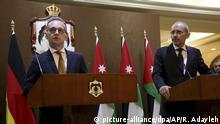 Außenminister Maas mit Aiman al-Safadi in Jordanien