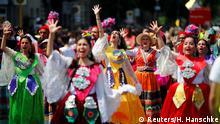 Deutschland Karneval der Kulturen in Berlin