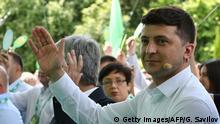 Ukraine Parteitag der Partei Diener des Volkes