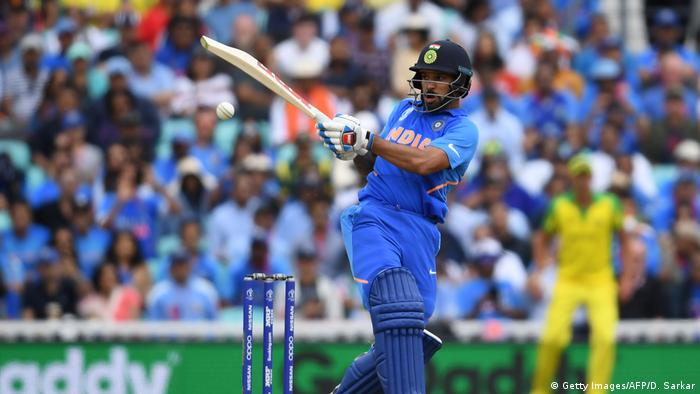 ICC Cricket World Cup Indien - Australien Shikhar Dhawan (Getty Images/AFP/D. Sarkar)