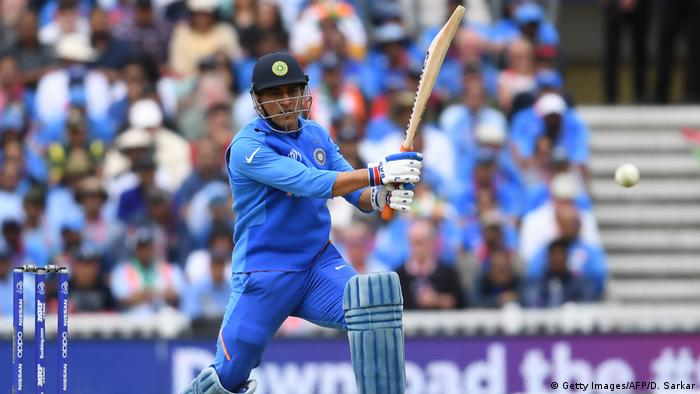 ICC Cricket World Cup Indien - Australien Singh Dhoni (Getty Images/AFP/D. Sarkar)