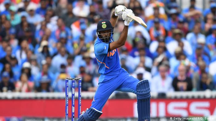 ICC Cricket World Cup Indien - Australien Hardik Pandya (Getty Images/AFP/D. Sarkar)