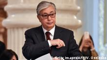 Kasachstan Präsidentschaftswahlen Qassym-Schomart Toqajew