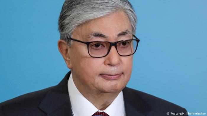 Kasachstan Präsidentschaftswahlen Qassym-Schomart Toqajew (Reuters/M. Kholdorbekov)
