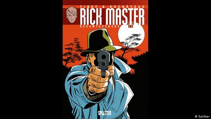 Rick Master Gesamtausgabe Cover (Splitter)