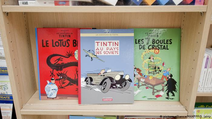 TinTin′ artwork sells for $1 1 million at auction | News | DW