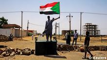 Sudann Khartum Soldaten Protest