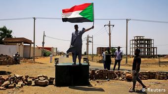 Sudann Khartum Soldaten Protest (Reuters)